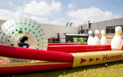 Inflatable Human Bowling