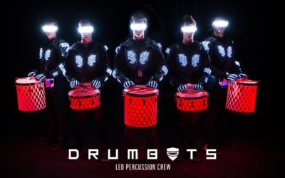 LED Drumbots
