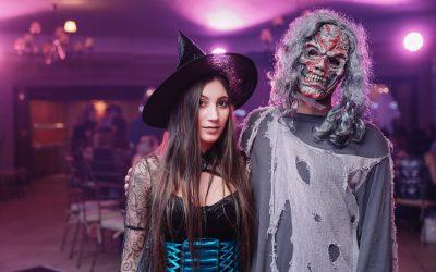 Halloween Themed Promo Staff