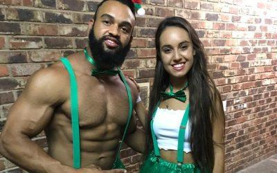 St Patrick's Day Themed Promo Staff